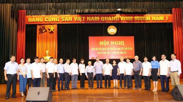 Bộ trưởng Tô Lâm tiếp xúc cử tri tỉnh Bắc Ninh sau kỳ họp thứ 5 Quốc hội khóa XIV