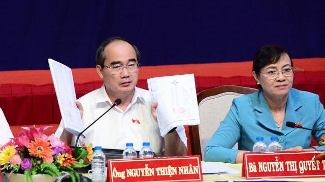 Bí thư Thành uỷ TP.HCM: 'Chúng tôi không gạt bà con'