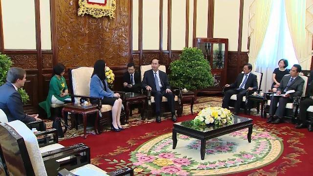 Chủ tịch nước Trần Đại Quang tiếp Đại sứ Ba Lan