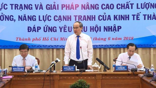 TP Hồ Chí Minh bàn giải pháp nâng cao năng lực cạnh tranh