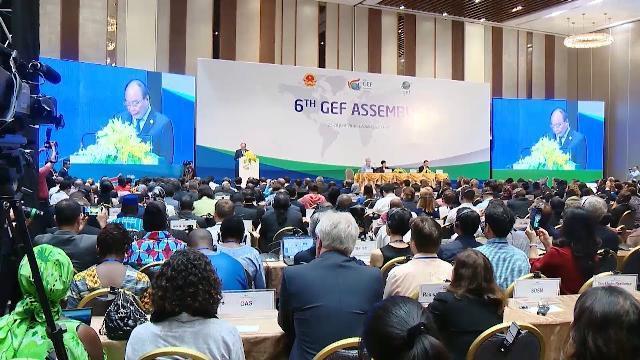 Thủ tướng dự Lễ khai mạc kỳ họp lần thứ 6 Đại hội đồng GEF