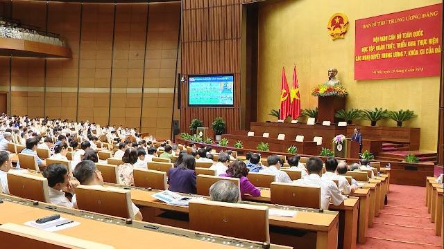 Ban Bí thư tổ chức Hội nghị toàn quốc quán triệt các Nghị quyết Hội nghị Trung ương 7