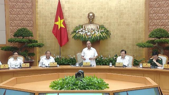 Thủ tướng chủ trì phiên họp Chính phủ thường kỳ tháng 6 năm 2018