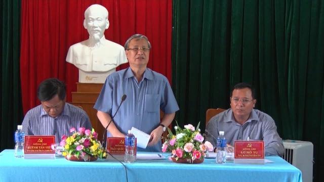 Thường trực Ban Bí thư làm việc với các Đảng bộ cơ sở của tỉnh Phú Yên