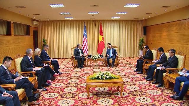 Thủ tướng tiếp Bộ trưởng Ngoại giao Hoa Kỳ