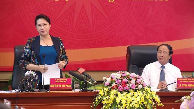 Chủ tịch Quốc hội Nguyễn Thị Kim Ngân thăm và làm việc tại TP Hải Phòng