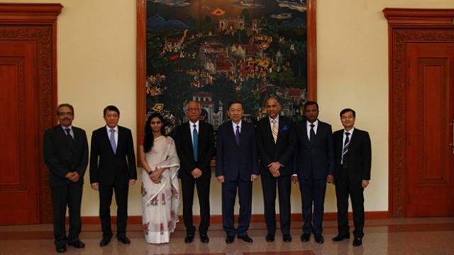 Bộ trưởng Tô Lâm tiếp Phó Cố vấn An ninh Quốc gia Ấn Độ