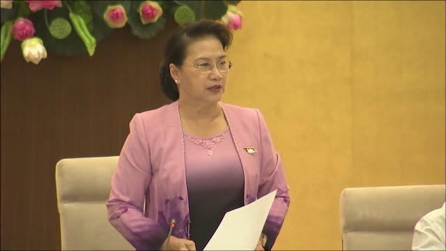 Bế mạc phiên họp thứ 25, Ủy ban Thường vụ Quốc hội khóa XIV