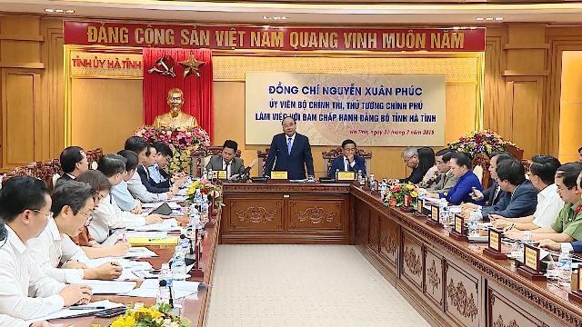 Thủ tướng yêu cầu tỉnh Hà Tĩnh cần có giải pháp giảm nghèo nhanh hơn