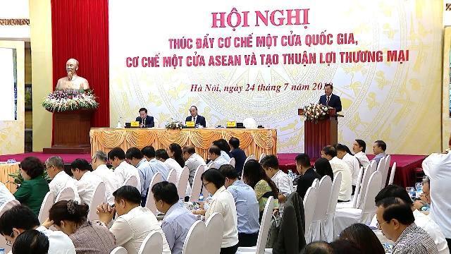 Thủ tướng dự Hội nghị thúc đẩy cơ chế một cửa quốc gia, một cửa ASEAN