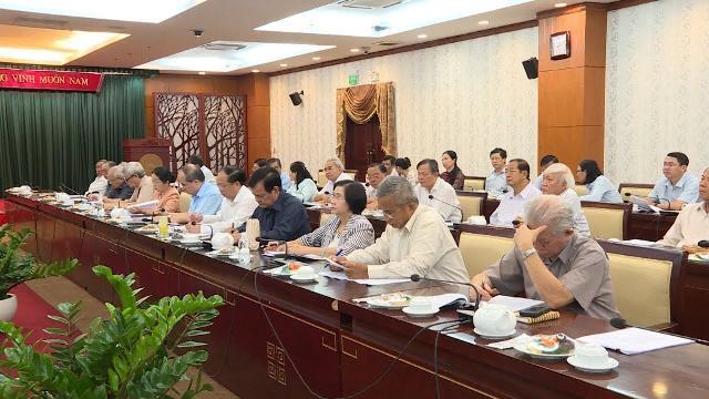 Lãnh đạo TP Hồ Chí Minh gặp mặt cán bộ cao cấp nghỉ hưu