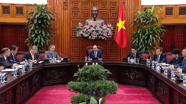 Thủ tướng tiếp đoàn Ủy ban Kinh tế Nhật - Việt