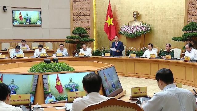 Thủ tướng chủ trì phiên họp Chính phủ thường kỳ tháng 7 năm 2018