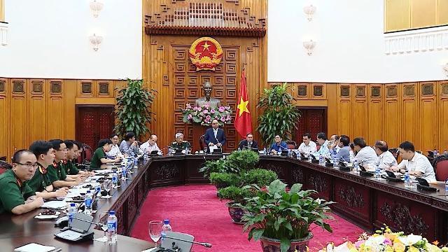 Thủ tướng Nguyễn Xuân Phúc tiếp đoàn đại biểu Trung ương Hội Nạn nhân chất độc da cam/dioxin