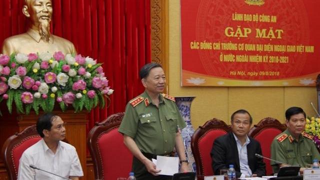 Bộ Công an gặp mặt các Trưởng cơ quan đại diện Việt Nam tại nước ngoài