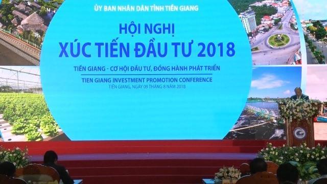 Thủ tướng Nguyễn Xuân Phúc dự Hội nghị Xúc tiến đầu tư Tiền Giang