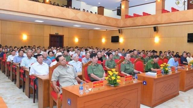 Bộ Công an gặp mặt kỷ niệm 73 năm Ngày truyền thống Công an nhân dân