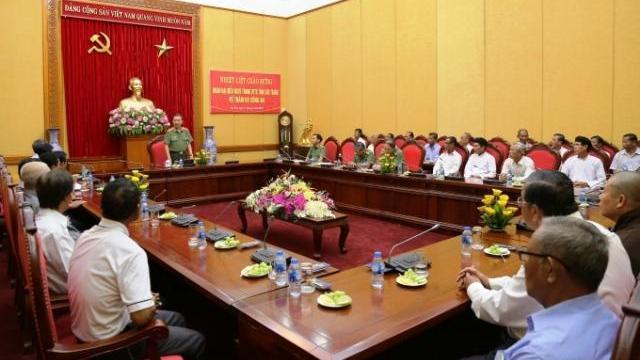 Bộ trưởng Tô Lâm tiếp Đoàn đại biểu người có uy tín trong dân tộc thiểu số tỉnh Sóc Trăng