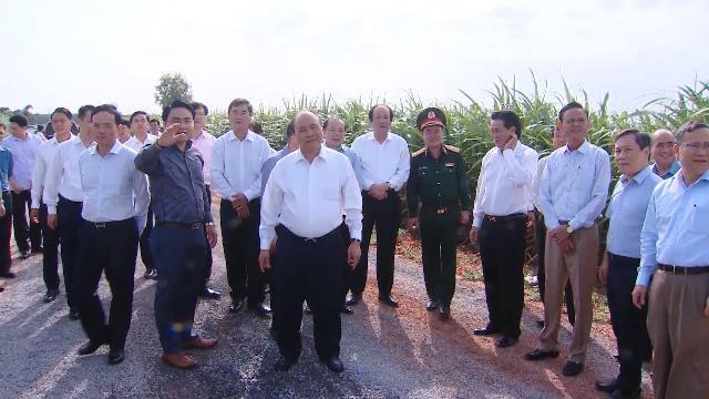 Thủ tướng thăm nông trường Thành Long, Tây Ninh