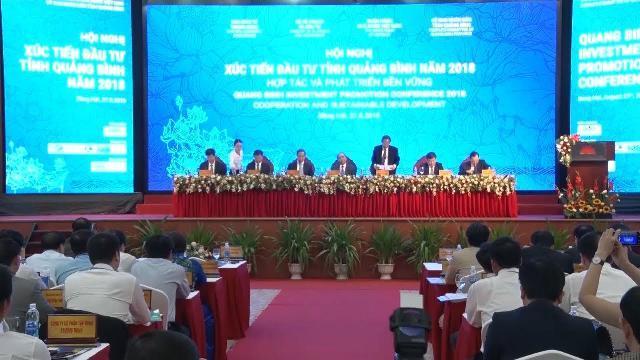 Quảng Bình tổ chức Hội nghị Xúc tiến đầu tư năm 2018