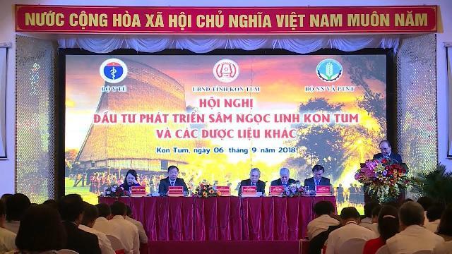 Hội nghị đầu tư phát triển sâm Ngọc Linh và các dược liệu khác tại Kon Tum