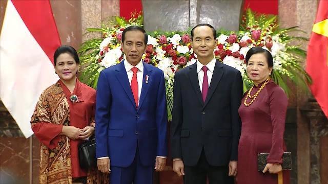 Tổng thống Indonesia và Phu nhân thăm chính thức Việt Nam