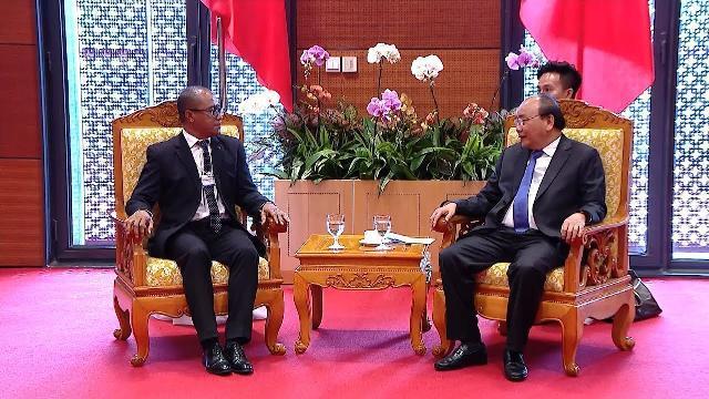 Thủ tướng Chính phủ Nguyễn Xuân Phúc tiếp Bộ trưởng Ngoại giao Timor Leste