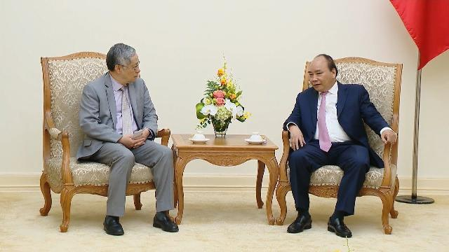 Thủ tướng Nguyễn Xuân Phúc tiếp Giám đốc Điều hành của Ban Thư ký Ủy hội sông Mê Công quốc tế