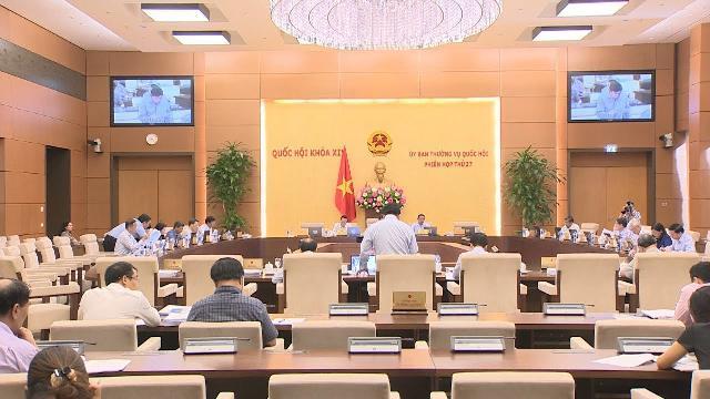 Uỷ ban Thường vụ Quốc hội cho ý kiến vào dự Luật sửa đổi bổ sung một số điều của Luật Đầu tư công
