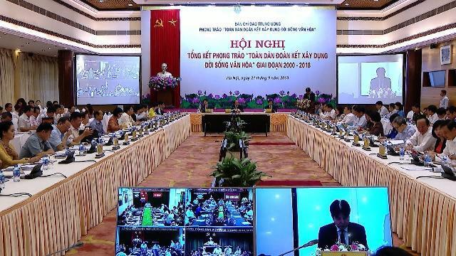 Thủ tướng yêu cầu phải xây dựng môi trường văn hóa lành mạnh ở cấp độ quốc gia
