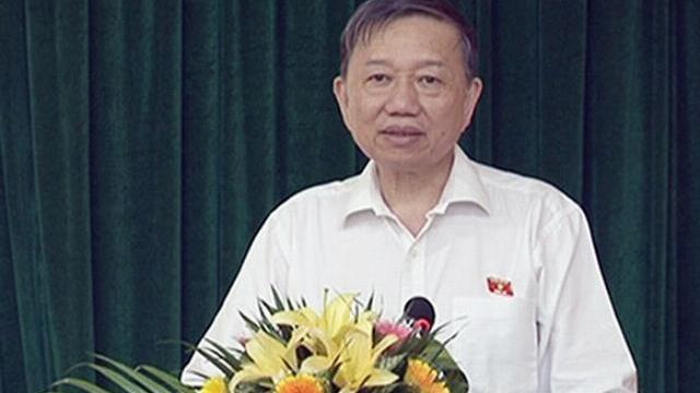 Bộ trưởng Tô Lâm tiếp xúc cử tri tại tỉnh Bắc Ninh