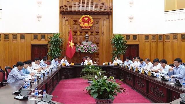 Thủ tướng làm việc với lãnh đạo UBND tỉnh Ninh Thuận