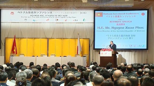 Hội nghị Xúc tiến đầu tư Việt Nam - Nhật Bản tại Tokyo