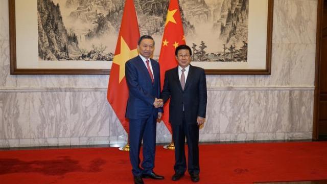 Hội nghị hợp tác phòng, chống tội phạm lần thứ 6 Việt Nam - Trung Quốc