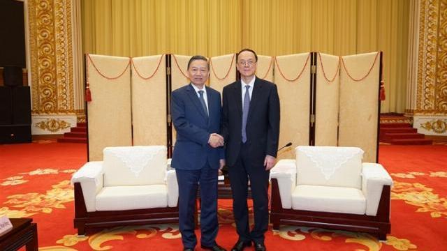 Bộ trưởng Tô Lâm thăm thành phố Đại Liên, tỉnh Liêu Ninh, Trung Quốc