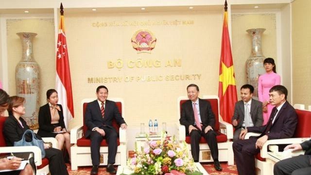 Tăng cường quan hệ hợp tác Bộ Công an Việt Nam và Bộ Nội vụ Singapore