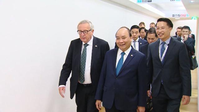 Thủ tướng Chính phủ Nguyễn Xuân Phúc kết thúc tốt đẹp chuyến thăm, làm việc tại Châu Âu