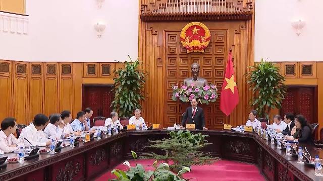 Thủ tướng làm việc với lãnh đạo UBND tỉnh Thừa Thiên - Huế