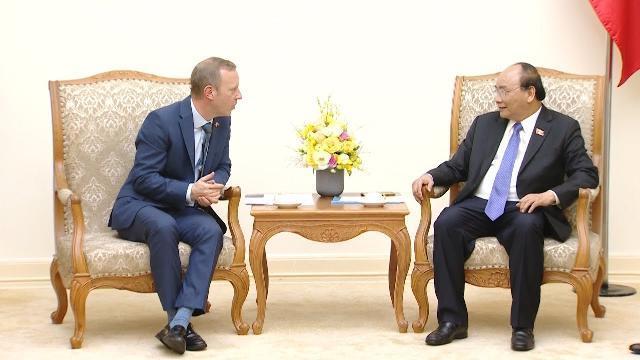 Thủ tướng tiếp Đại sứ Vương quốc Anh