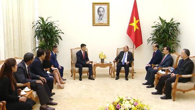 Thủ tướng tiếp Chủ tịch Tập đoàn đầu tư đóng chai Coca-Cola