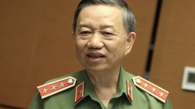 Bộ trưởng Công an Tô Lâm trả lời chất vấn về căn cước công dân