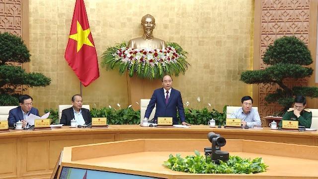 Thủ tướng chủ trì phiên họp Chính phủ thường kỳ tháng 10 năm 2018