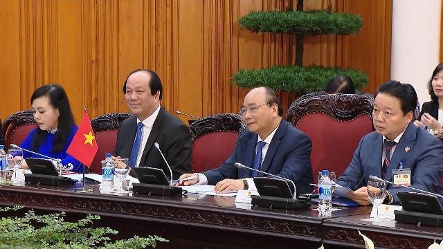 Thủ tướng Nguyễn Xuân Phúc hội đàm với Thủ tướng Cộng hòa Pháp Édouard Philippe