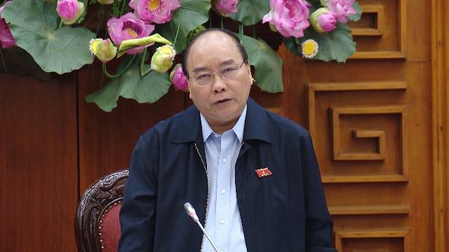 Thủ tướng họp về tình hình sạt lở bờ biển và bồi lấp cửa sông với lãnh đạo 13 tỉnh miền Trung