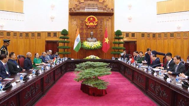 Thủ tướng hội kiến với Tổng thống Ấn Độ