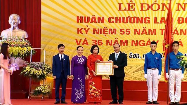 Thủ tướng dự Lễ đón nhận Huân chương Lao động hạng Nhì tại trường THPT Đa Phúc