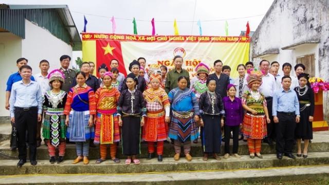 Bộ trưởng Tô Lâm dự Ngày hội Đại đoàn kết toàn dân tộc tại Hà Giang