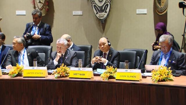 Thủ tướng bắt đầu các hoạt động tại Hội nghị cấp cao APEC 26