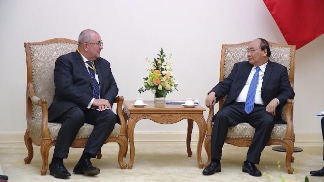 Thủ tướng Nguyễn Xuân Phúc tiếp Đại sứ Vương quốc Bỉ
