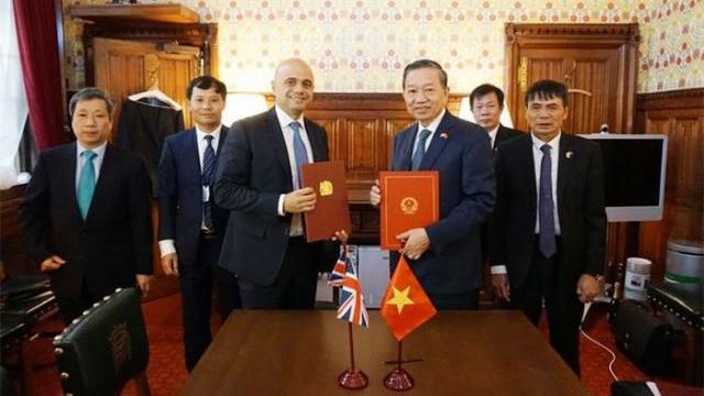 Bộ trưởng Tô Lâm thăm và làm việc tại Vương quốc Anh